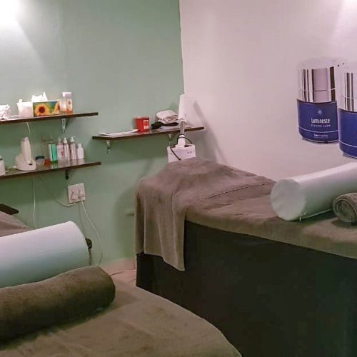 Scottburgh Health and Beauty pamper room